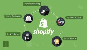 shopify web development company-shopify